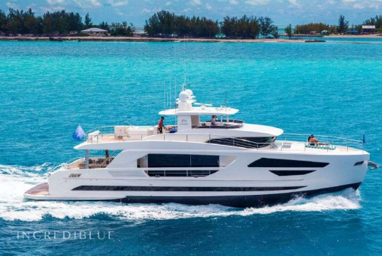 Yacht rent Horizon 2017 in Nanny Cay Marina, British Virgin Islands