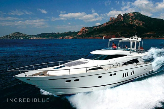 Yacht rent Fairline Squadron 74 in S'Arenal, Mallorca