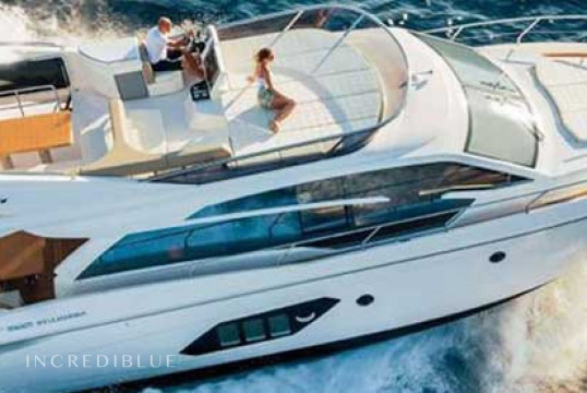 Motorboat rent Absolute 52 Fly in Cala Nova, Mallorca