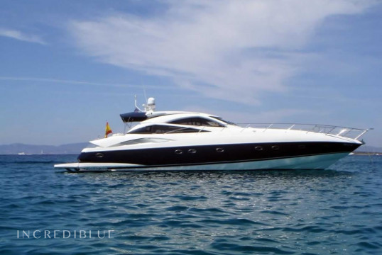 Yacht rent Sunseeker Predator 68 in Port d'Eivissa, Ibiza