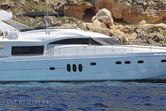 Yacht rent Princess 23 in Puerto de Palma, Mallorca